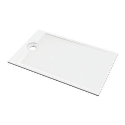 Receveur ultra plat à encastrer 140x90 LATITUDE blanc ALLIA