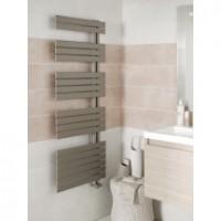 Sèche-serviettes eau chaude CONCERTO ASYMETRIQUE 1054x550 gris 474W
