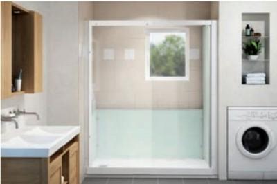 cabine de douche kine 120x70 kinedo douche rennes 35920 d stockage habitat. Black Bedroom Furniture Sets. Home Design Ideas
