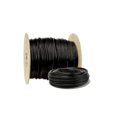 Câble industriel rigide U1000 RO2V 3G 2,5mm² noir au mètre