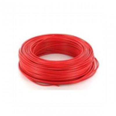 Fil rigide HO7V-R 6mm² rouge au mètre NEXANS