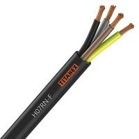 Câble industriel souple HO7RN-F 3g2,5mm² noir au mètre NEXANS