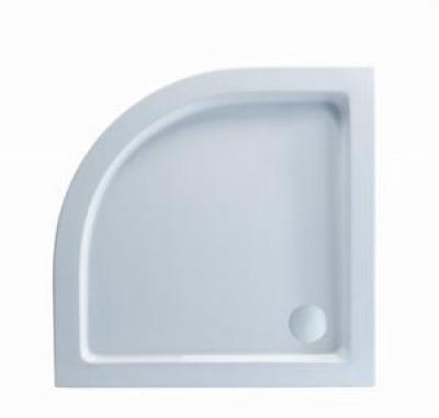 Receveur acrylique 1/4R 100x100 LYNA BASIC SEGMENT