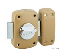 Verrou de sûreté CORVETTE 3 clés à bouton et cylindre D60mm THIRARD