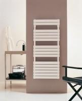 Sèche-serviettes CONCERTO 2 blanc à eau chaude L38mm 1152x506 réf XOM050P16010005 ALTERNA