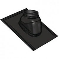 Solin Ubiflex 80/125 noir 5° à 25° UBBINK