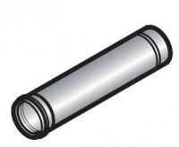 Tuyau PPS diamètre 110mm longueur 1000mm gris DE DIETRICH