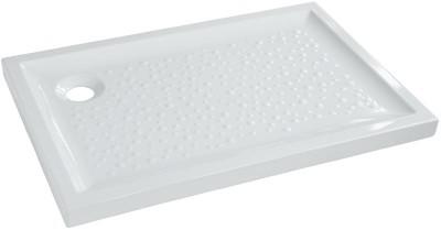 Receveur à poser PRIMA extra-plat blanc L100xl80cm ALLIA