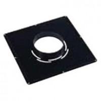 Plaque de propreté 400x400 noir D150-153 TEN