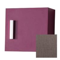 Module 1 porte réversible, 30 cm WOODSTOCK tissu gris fonçé