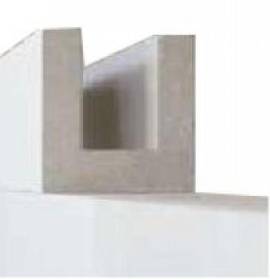 Bloc béton cellulaire chaînage horizontal 20x25x62,5cm XELLA