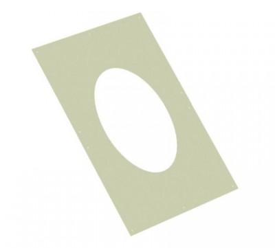 Plaque murale blanc intérieur isoten + joint 200 extérieur TEN