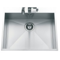 Evier inox PACIFICA lisse 1 cuve 58x50cm BASIC SEGMENT