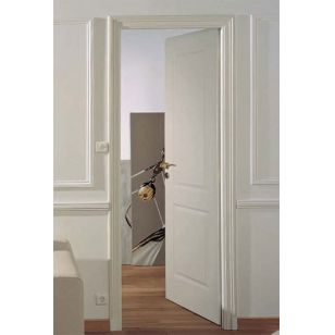 Bloc porte alveo postform traverse droit pr peintes830 for Bloc porte pvc interieur