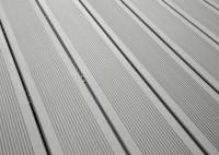 Lame terrasse composite ELEGANCE gris iroise rainurée 23x138x4000mm SILVADEC