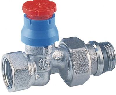 Corps de robinet thermostatique droit 15x21mm pour fer - Robinet thermostatique radiateur giacomini ...