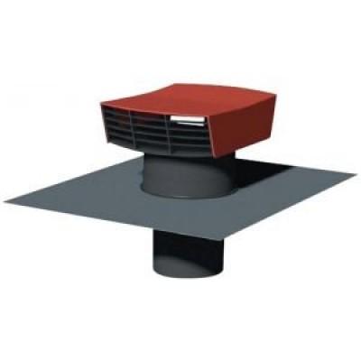 chapeau de toiture plastique ct 150p ardoise unelvent. Black Bedroom Furniture Sets. Home Design Ideas