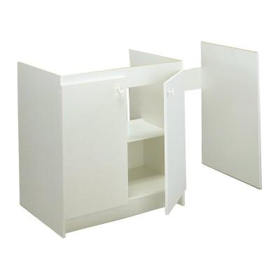 meuble cuisinette 120cm m lamin moderna rennes 35920 d stockage habitat. Black Bedroom Furniture Sets. Home Design Ideas