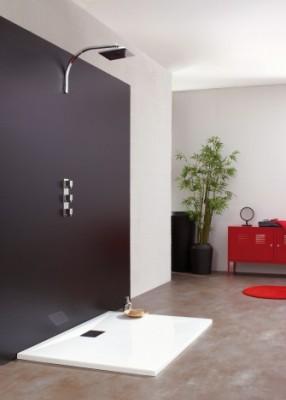 receveur encastrer kinesurf 80x100 kinedo douche la. Black Bedroom Furniture Sets. Home Design Ideas