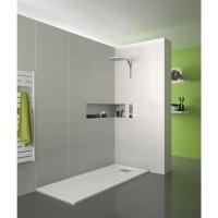 Receveur KINESURF BPC 120x80cm blanc KINEDO DOUCHE