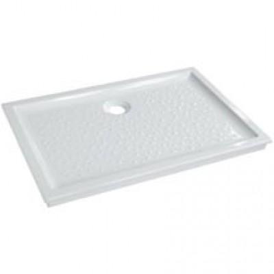 Receveur à encastrer PRIMA 100x80cm extra-plat blanc ALLIA