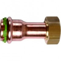 Raccord cuivre à sertir écrou tournant diamètre 12mm 12x17mm COMAP