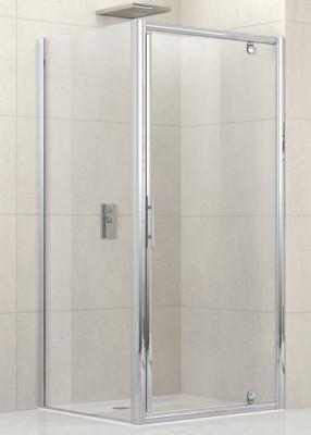 paroi de douche lunes g f pivotante et fixe 114cm verre transparent silver novellini la. Black Bedroom Furniture Sets. Home Design Ideas