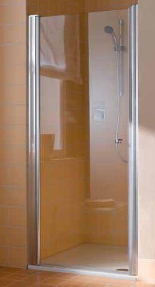 Porte atea pivotante gauche blanc verre de s curit for Mecanisme porte pivotante