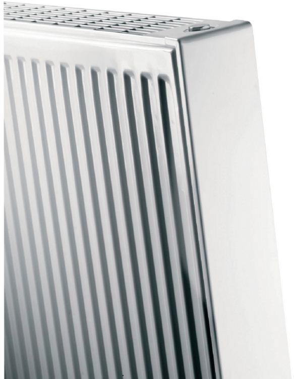 Radiateur vertical mural 21s habill l800 h2200 3026w for Radiateur mural vertical