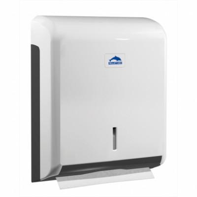 Distributeur essuie-mains ABS blanc PELLET