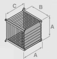 Grille de protection inox diamètre 80/125mm DE DIETRICH