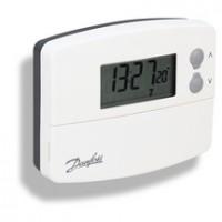 Thermostat programmable 5+2jours à pile DANFOSS CHAUFFAGE