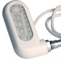 Boîtier électrique sèche-serviette classique blanc 500w