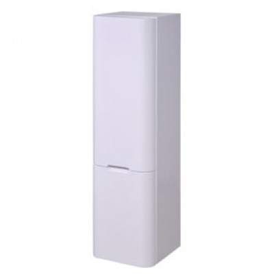 1/2 colonne suspendue 35 1 porte 1 tiroir blanc CITY BASIC SEGMENT