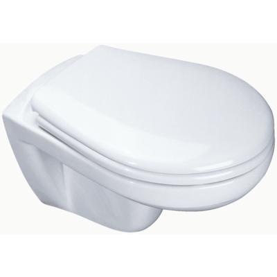 cuvette wc suspendue ulysse 2 sans trou d 39 abattant blanc. Black Bedroom Furniture Sets. Home Design Ideas