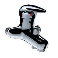 Mitigeur bain douche mâle 15x21mm entraxe 60-80mm DELABIE