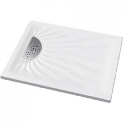 Receveur Embruns ultra-plat à poser 100x90cm blanc ALLIA