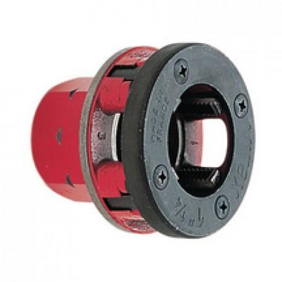 Tête filière complète avec peigne filetage BSPT droite D15x21 VIRAX