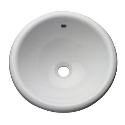 ab89541efe4 Vasque à encastrer ronde KARA D40 céramique blanc BASIC SEGMENT - L ...