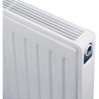 Radiateur COMPACT 4 connexions type 21S hauteur 400mm 12 éléments longueur 480mm 459 watts