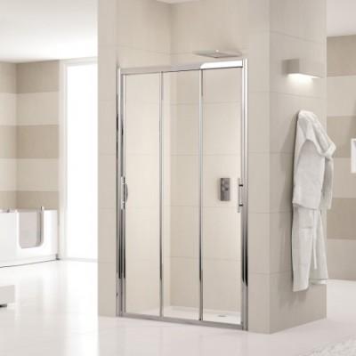 Profilé pour porte de douche Lunes P 01 H190 Blanc NOVELLINI