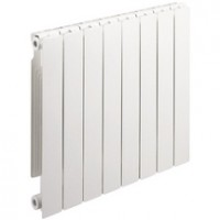 Radiateur décor en aluminium STREET 60 entraxe 600 4 éléments 464 watts DECORAL