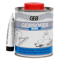 Gebsofer resine bidon 500ml DESAMAIS