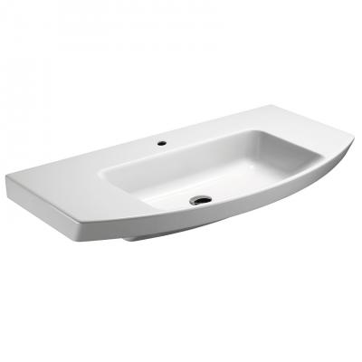 Plan vasque céramique NICE DAY, 100x50cm