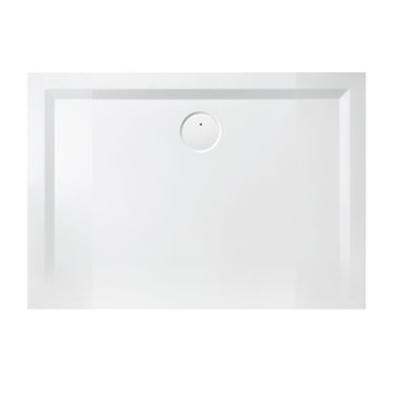 Receveur rectangulaire Space Mineral 90x110 Blanc LEDA