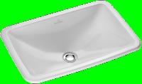 Vasque à encastrer LOOPFRIENDS blanc VILLEROY ET BOCH