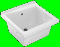 Bac à laver 64x60 blanc JACOB DELAFON