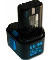 Batterie 9,6V EB9B HITACHI