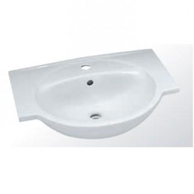 Plan toilette CITY 65cm blanc ALLIA