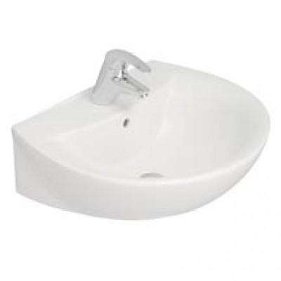 Lavabo autoportant kheops2 60x49cm ideal standard lons for Largeur lavabo standard